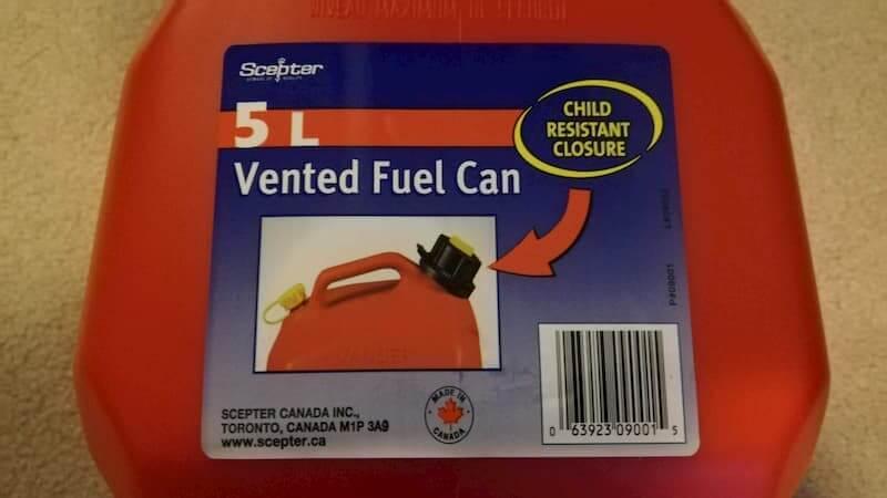 ガソリン携行缶