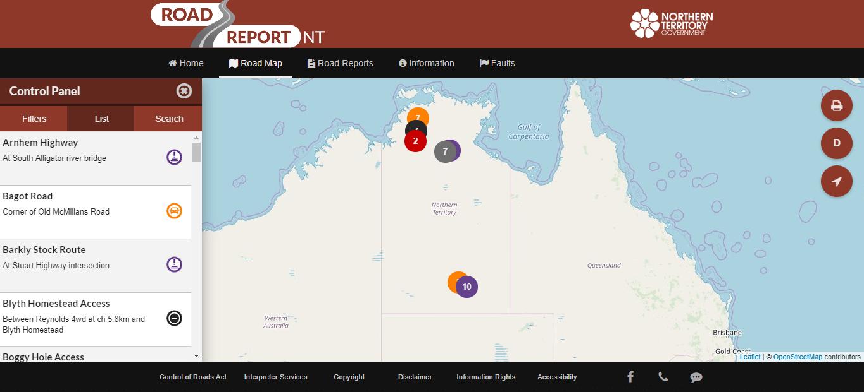 Road Report NT