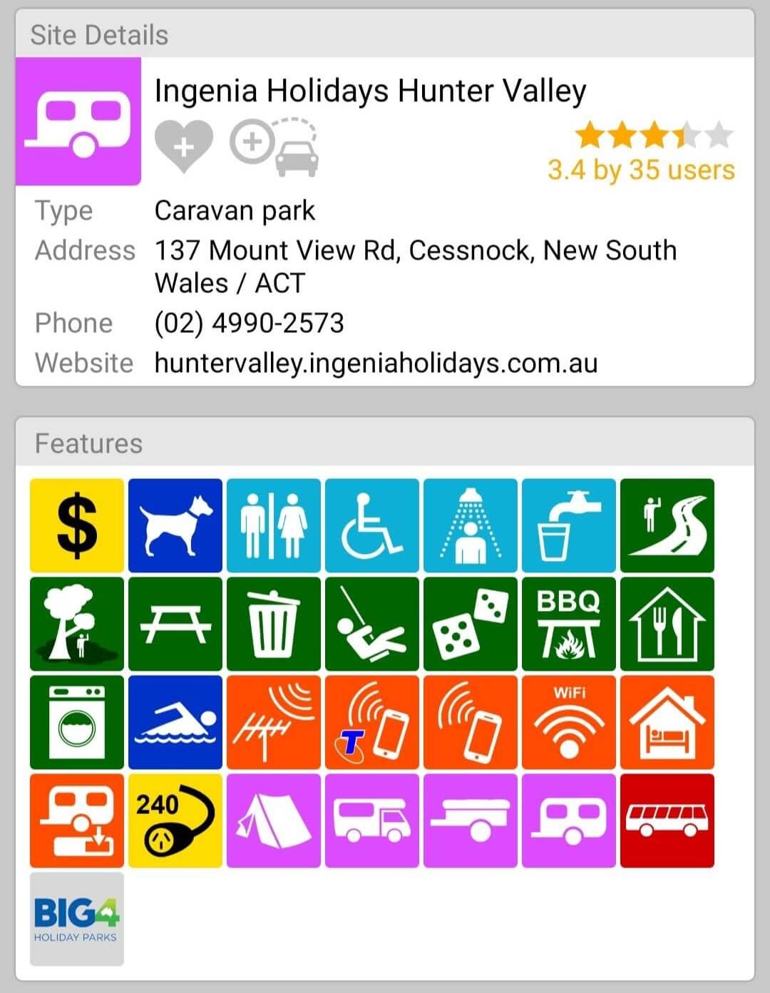 Ingenia Holidays Hunter Valley