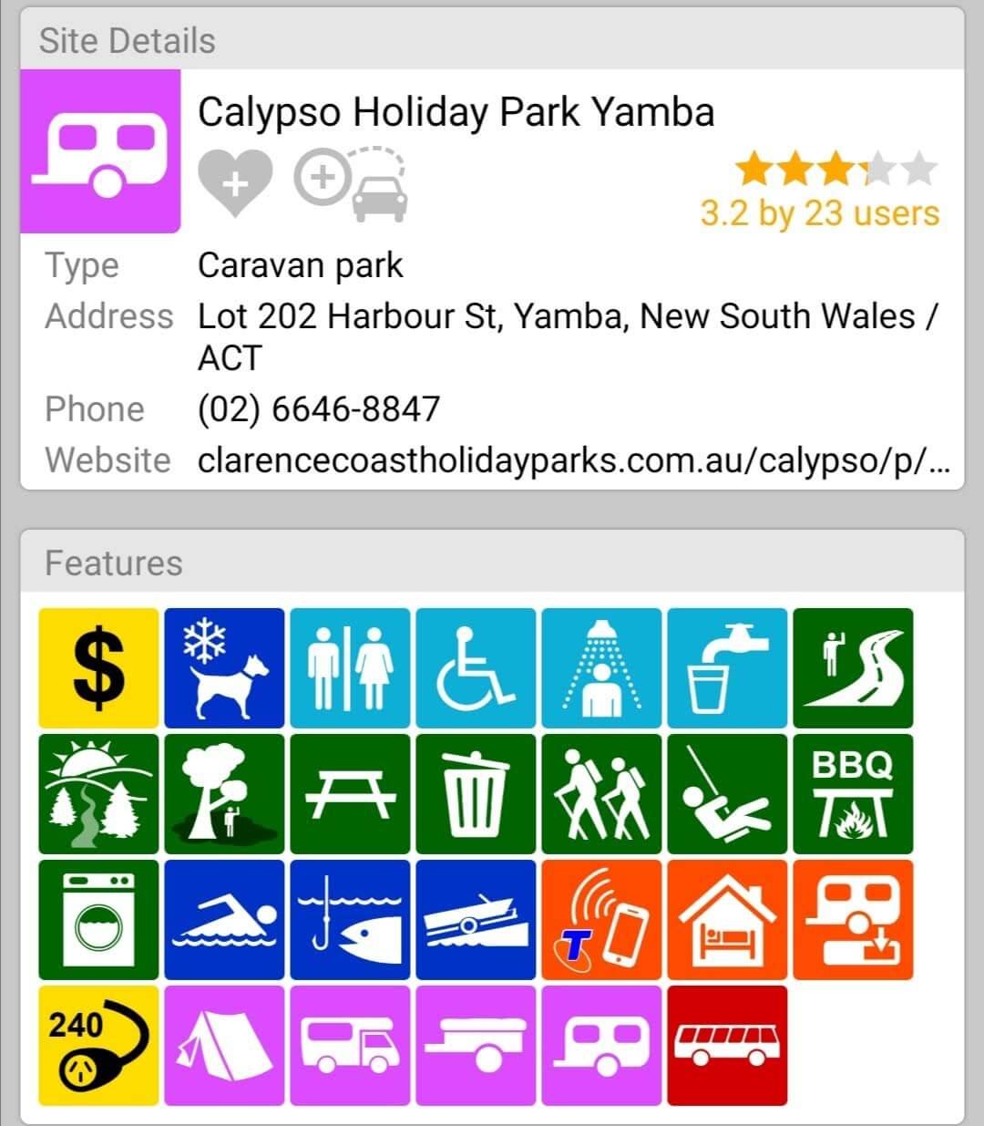 Calypso Holiday Park Yamba