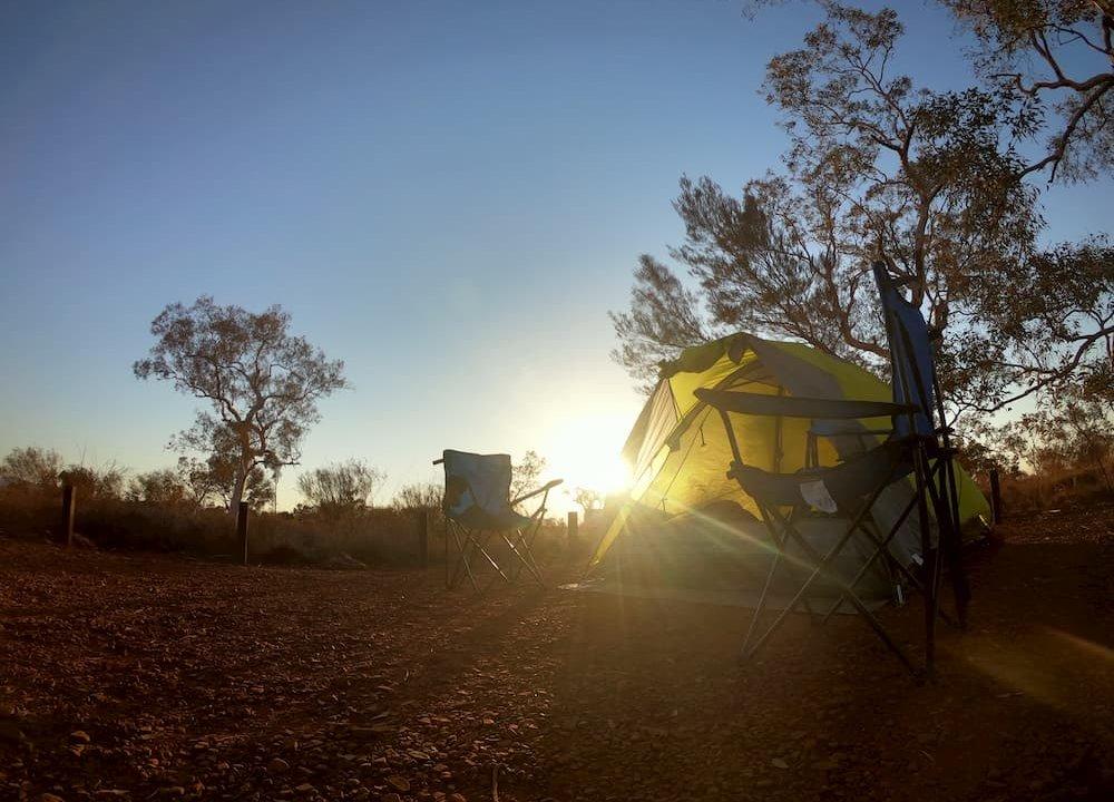 【オーストラリアラウンド:WA州】Karijini Eco Retreat & Savannah Campgroundでキャンプしてみました @カリジニ